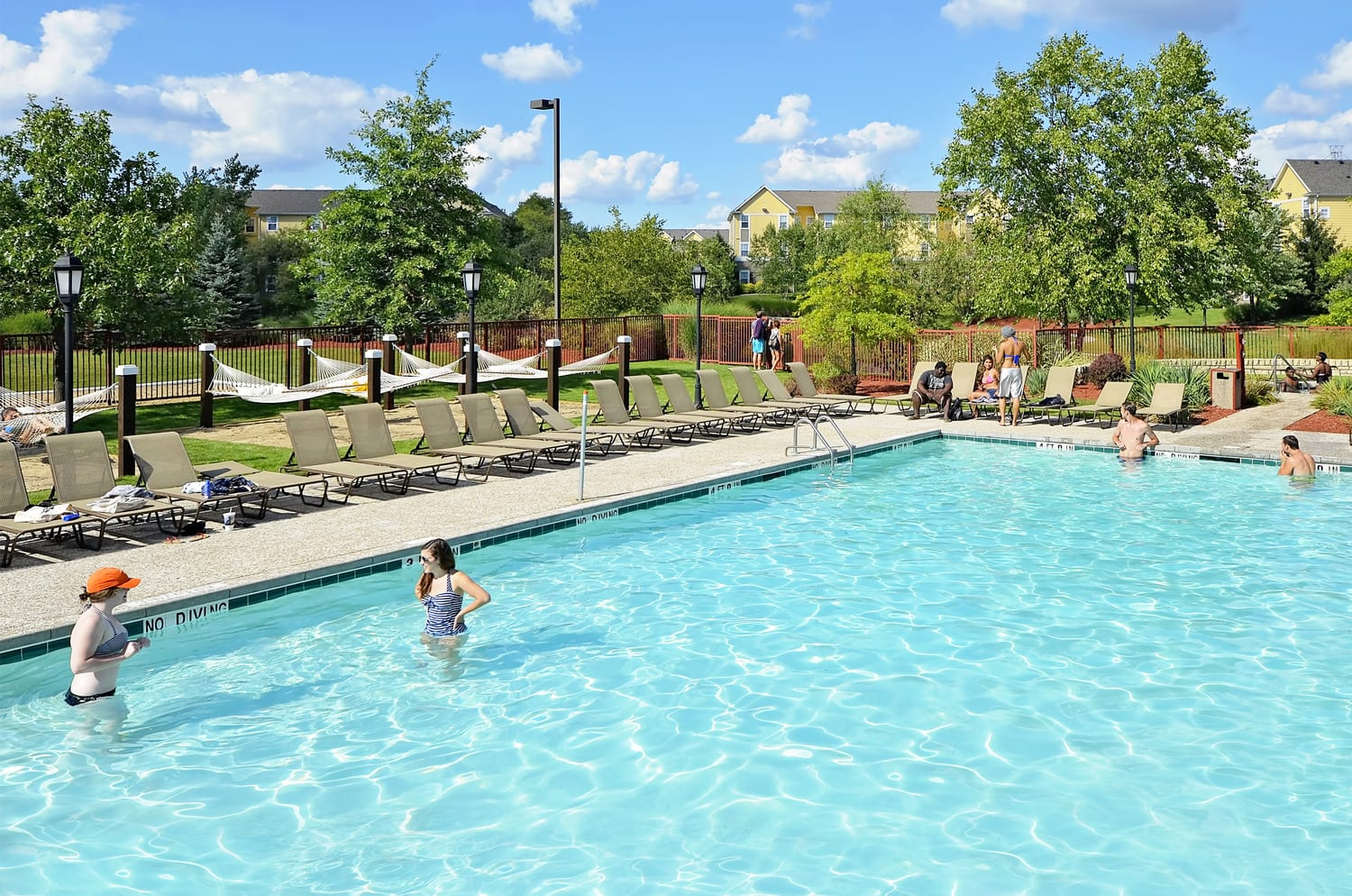 Student Housing Swimming Pools